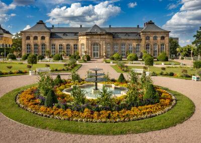 Schlosspark Schloss Friedenstein in Gotha | © Michael Reichel
