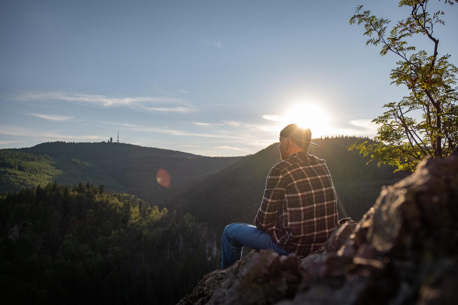 Blick auf den Großen Inselsberg | Foto: Lisa Kristin Schrötter