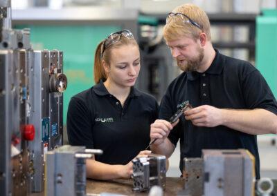 Ausbildung in der Schülken Form GmbH in Waltershausen | © Michael Reichel