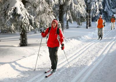 Skifahren im Thüringer Wald | © TTG/Barbara Neumann