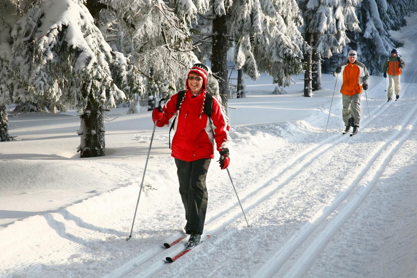 Skifahren im Thüringer Wald | Foto: Barbara Neumann/TTG
