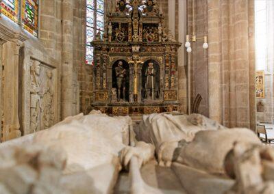 Blick in die Liebfrauenkirche in Arnstadt | © Kulturbetrieb Arnstadt/Jens Hauspurg