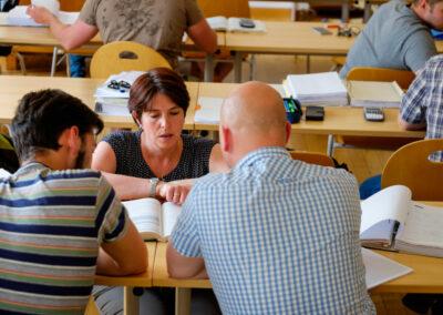Unterricht in der Staatlichen Fachschule für Bau, Wirtschaft und Verkehr Gotha | © Fachschule Gotha