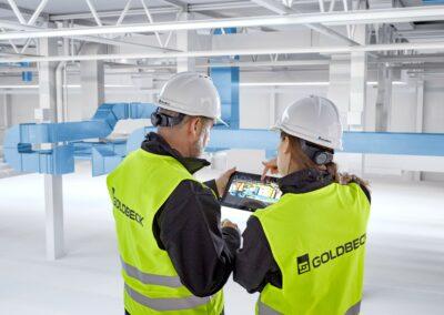Projekte von GOLDBECK am Erfurter Kreuz | © GOLDBECK Ost GmbH