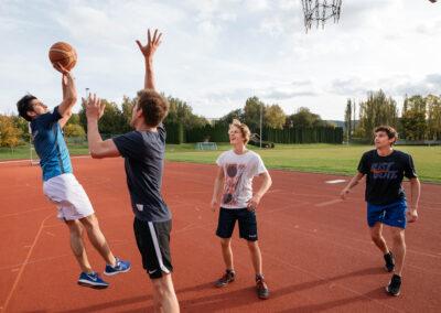 Freizeitsport auf dem Universitätscampus | © TU Ilmenau