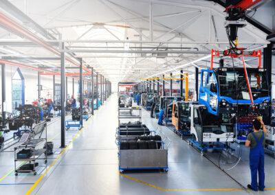 Multicarproduktion bei Hako in Waltershausen   © Hako GmbH