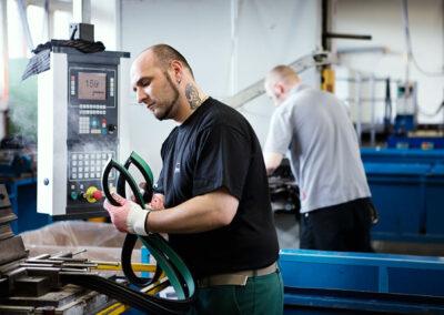 Rahmenfertigung bei Sealable Solutions in Waltershausen   © Sealable Solutions GmbH