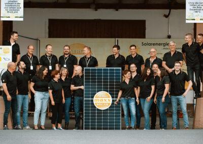 Team von maxx solar in Waltershausen | © maxx solar & energie GmbH & Co. KG