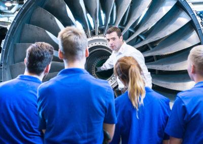 Ausbildung bei N3 in Arnstadt   © N3 Engine Overhaul Services GmbH & Co. KG