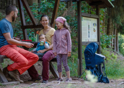 Familienwanderung auf dem Saurierpfad | © Lisa Kristin Schrötter