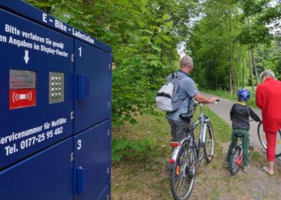 E-Bike-Ladestation   © Lutz Ebhardt