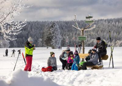 Wintervergnügen bei Neustadt am Rennsteig | © Michael Reichel