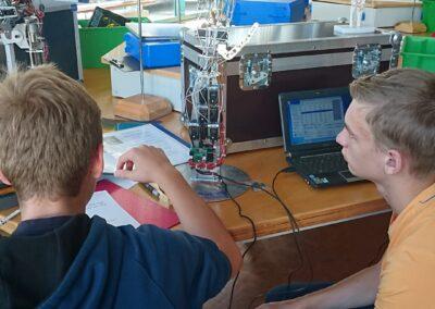 Experiment Roboterhand | © Bionikzentrum Waltershausen