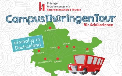 Virtuelle CampusThüringenTour – acht Hochschulen auf einen Streich