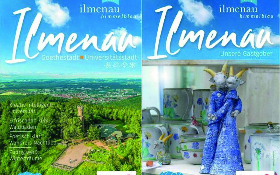 Neuer touristischer Image-Prospekt und neues Gastgeberverzeichnis für Ilmenau und seine Ortsteile erschienen