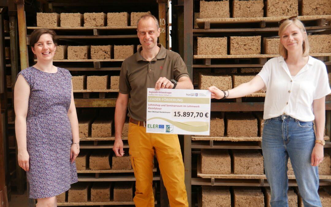 Lehmwerk Kleinfahner baut sein Angebot unter neuer Leitung aus