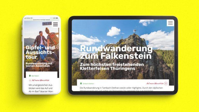 Neuer Webauftritt des Tourismusverbandes Thüringer Wald/Gothaer Land