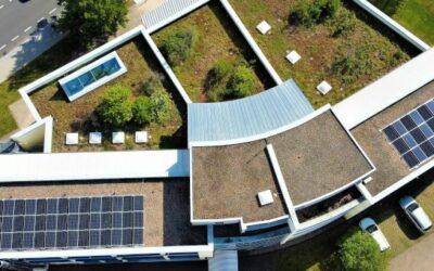 Das Technologie- und Gründerzentrum Ilmenau produziert seinen eigenen Strom und senkt CO2-Bilanz