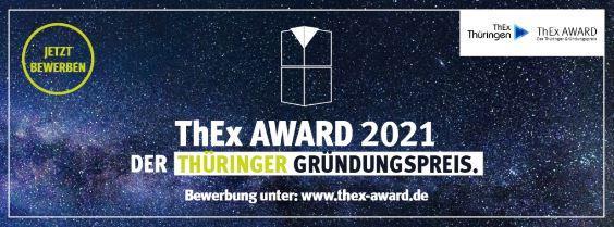 Startschuss für den ThEx AWARD – Der Thüringer Gründungspreis 2021