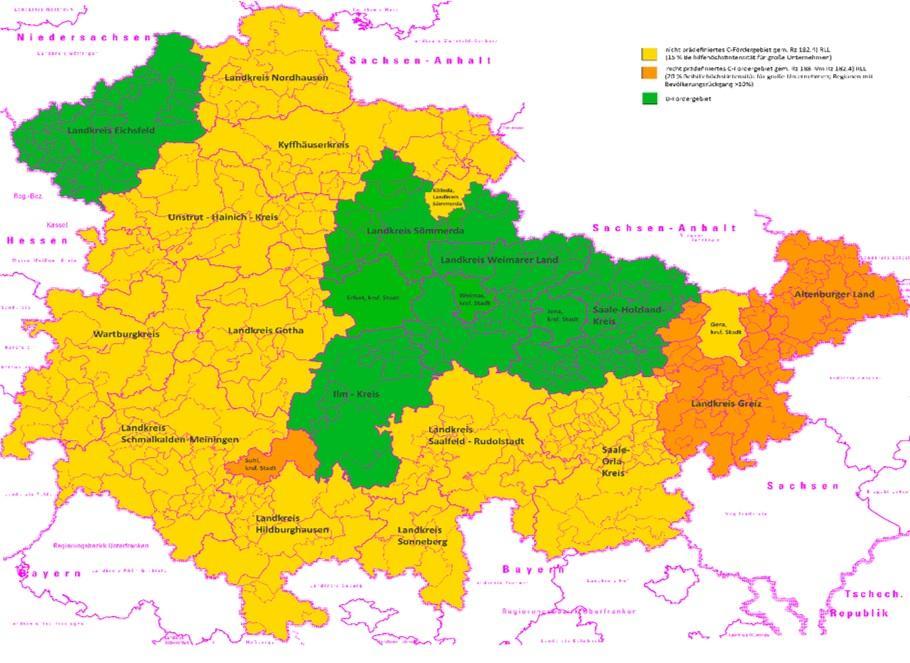 GRW-Regionalförderung ab 2022 neu ausgerichtet