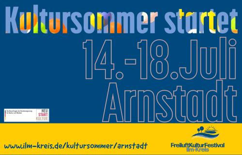 FreiluftKulturFestival 2021 – Kultursommer startet in Arnstadt