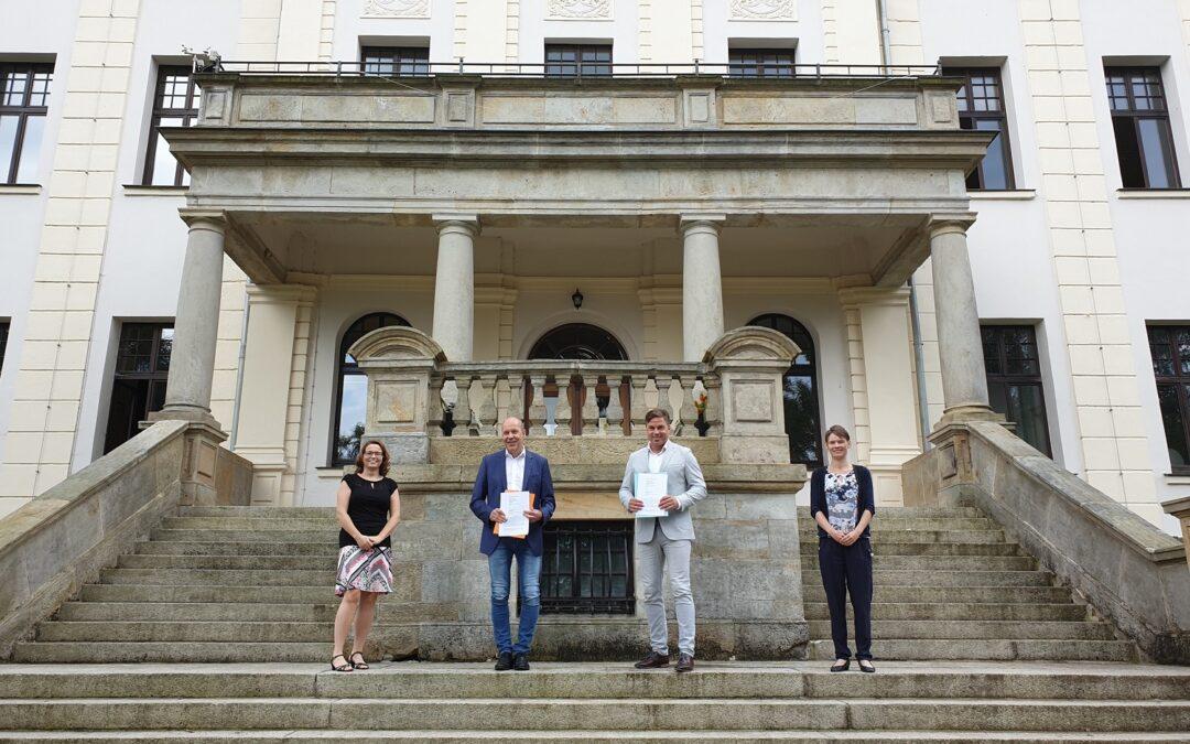 Erneuerung Kooperationsvertrag BN Automation AG mit der Goetheschule Ilmenau