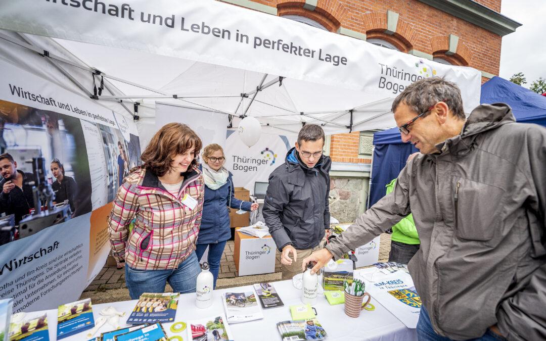 Thüringer Bogen präsentiert sich erfolgreich auf der Deutschland Tour 2021