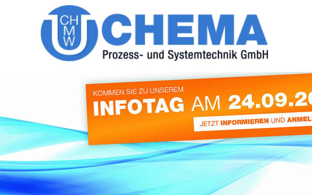 Kommen Sie zum INFOTAG der Chema GmbH am 24.09.2021