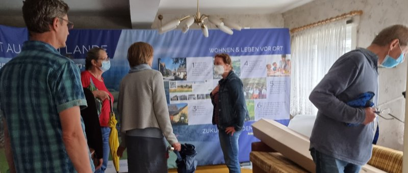 Überraschend großes Interesse von Besuchern gab es bei Öffnung eines Leerstandsobjekts in Böhlen