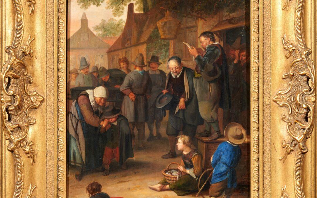 Niederländisches Gemälde nach 85 Jahren wieder zurück in Gotha