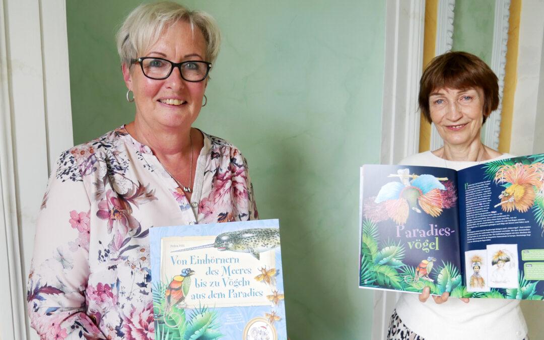 Mit Casimir durch das Naturalienkabinett: die neue Publikation für Kinder ist da