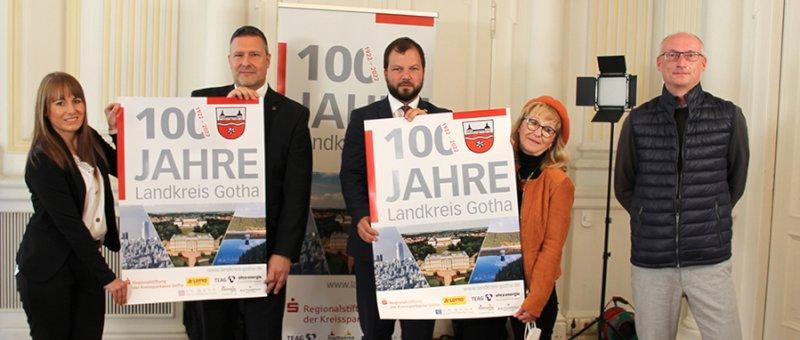 Landkreis Gotha feiert 2022 100. Jubiläum und stimmt sich bereits jetzt auf den runden Geburtstag ein